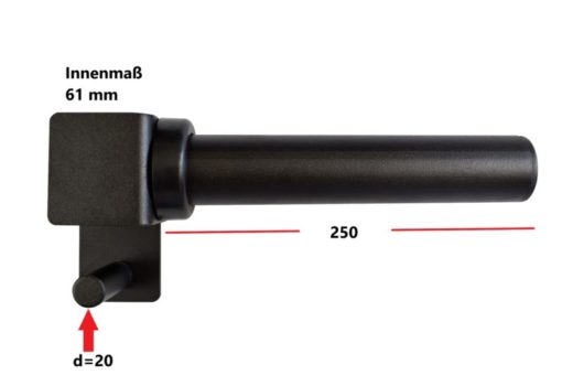 Hantelscheibenaufnahme 50 mm